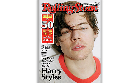 Harry Styles - Rolling Stone Cover